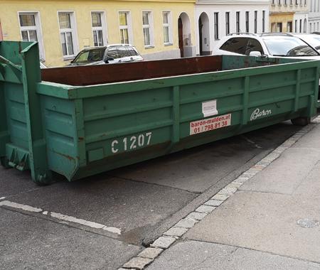 Lehr Container für Entrümpelung